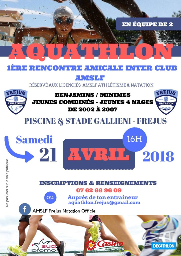 Amslf association multi sports et loisirs de fr jus var for Club piscine lasalle